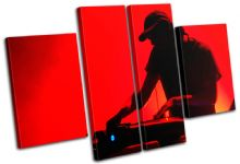 Turntables DJ Club - 13-1816(00B)-MP17-LO